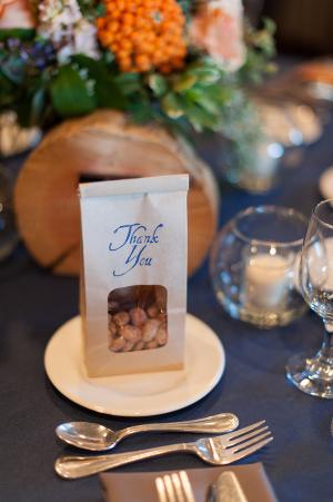 Gourmet Almonds Wedding Favor Ideas