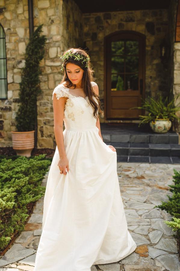 Gown by Heidi Elnora