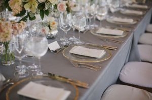 Gray and Gold Reception