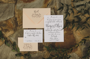 Invitations from Empress Stationery