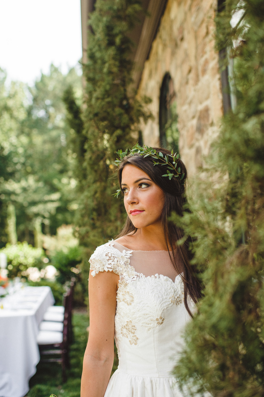 Italian garden wedding ideas elizabeth anne designs the for Garden designs by elizabeth