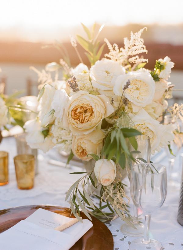 dd8dc088dc4 Ivory Wedding Centerpiece - Elizabeth Anne Designs: The Wedding Blog