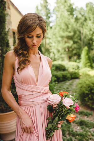 Mauve Bridesmaids Dress