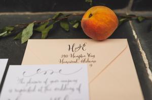 Modern Calligraphy Return Address