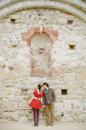 Modern Fall Engagement Session