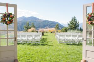 Mountain Ceremony Backdrop
