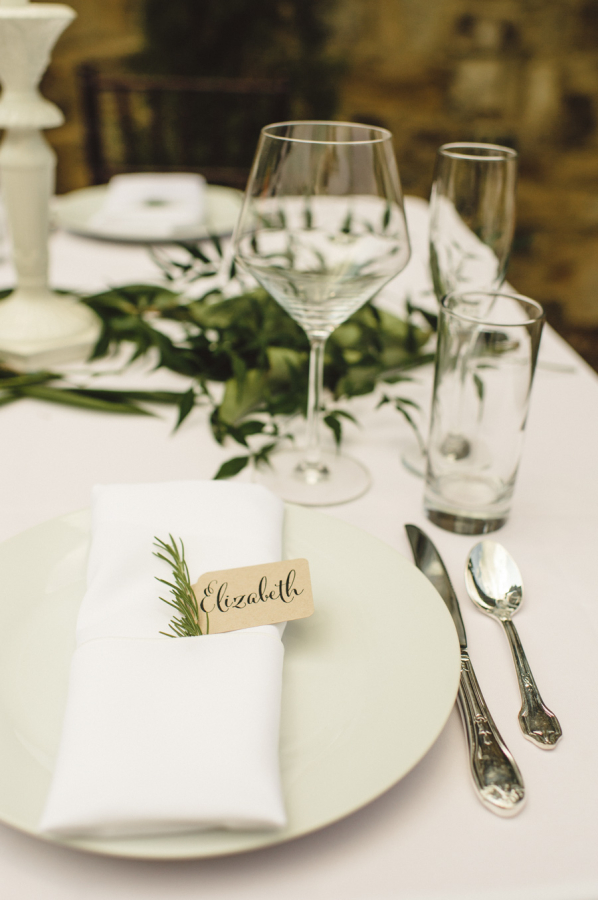 Natural Wedding Place Setting - Elizabeth Anne Designs: The ...