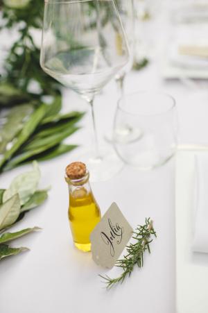 Olive Oil Favor