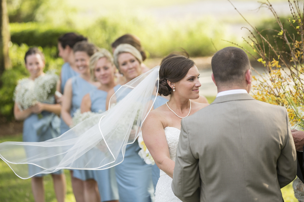 Outdoor Charleston South Carolina Wedding Ceremony