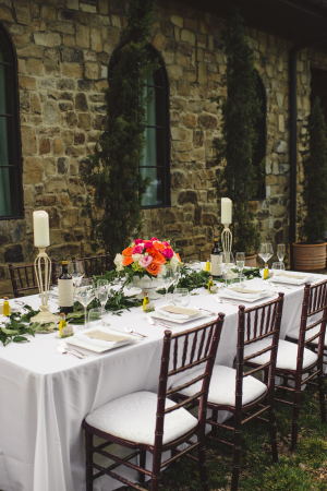 Outdoor Garden Party Wedding Ideas