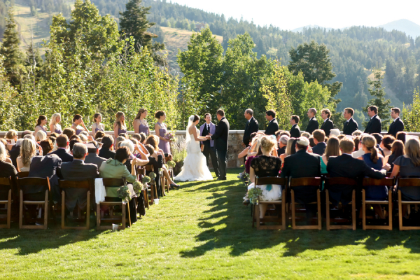 Outdoor Park City Resort Ceremony