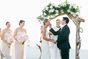 Outdoor Waterfront Wedding Ceremony