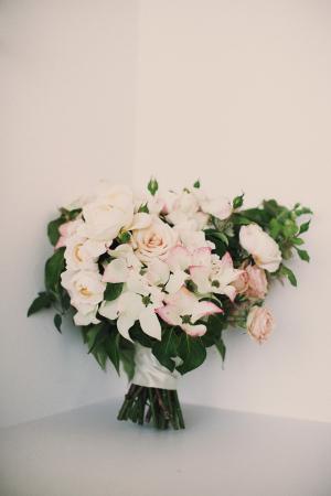Pale Pink Garden Bouquet