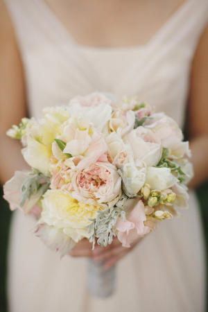 Pale Pink and Yellow Bouquet