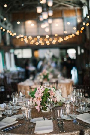 Pink and Green Rustic Elegant Wedding