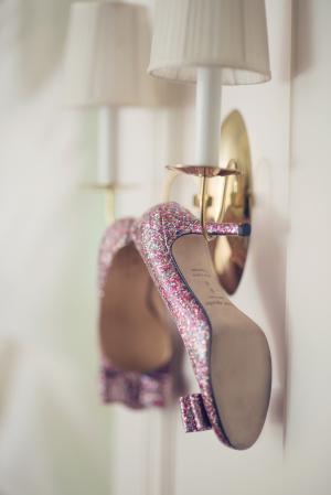 Purple Sparkle Kate Spade Shoes