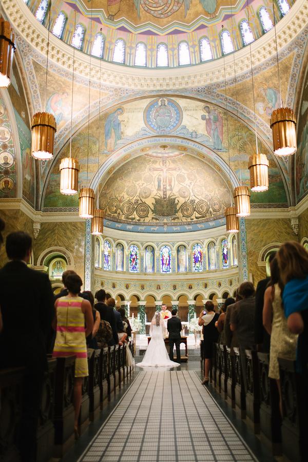 Saint Clement Parish Wedding Ceremony