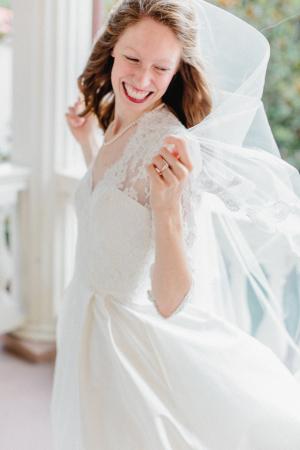 Sheer Wedding Veil