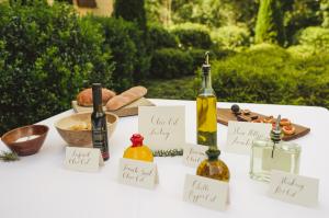 Tasting Station Olive Oil