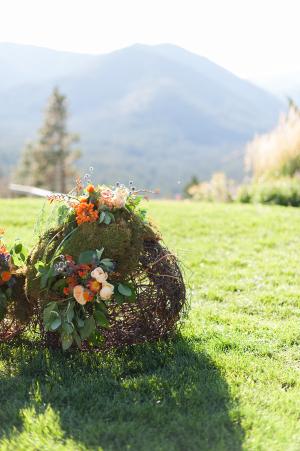 Tumbleweed Wedding Decor