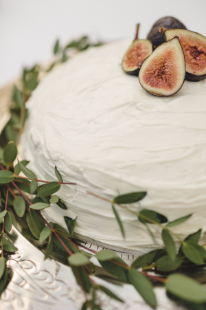 Wedding Cake with Figs