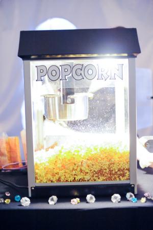 Wedding Popcorn Machine