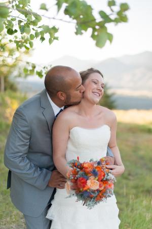 Wedding Portrait Blue Rose Photography