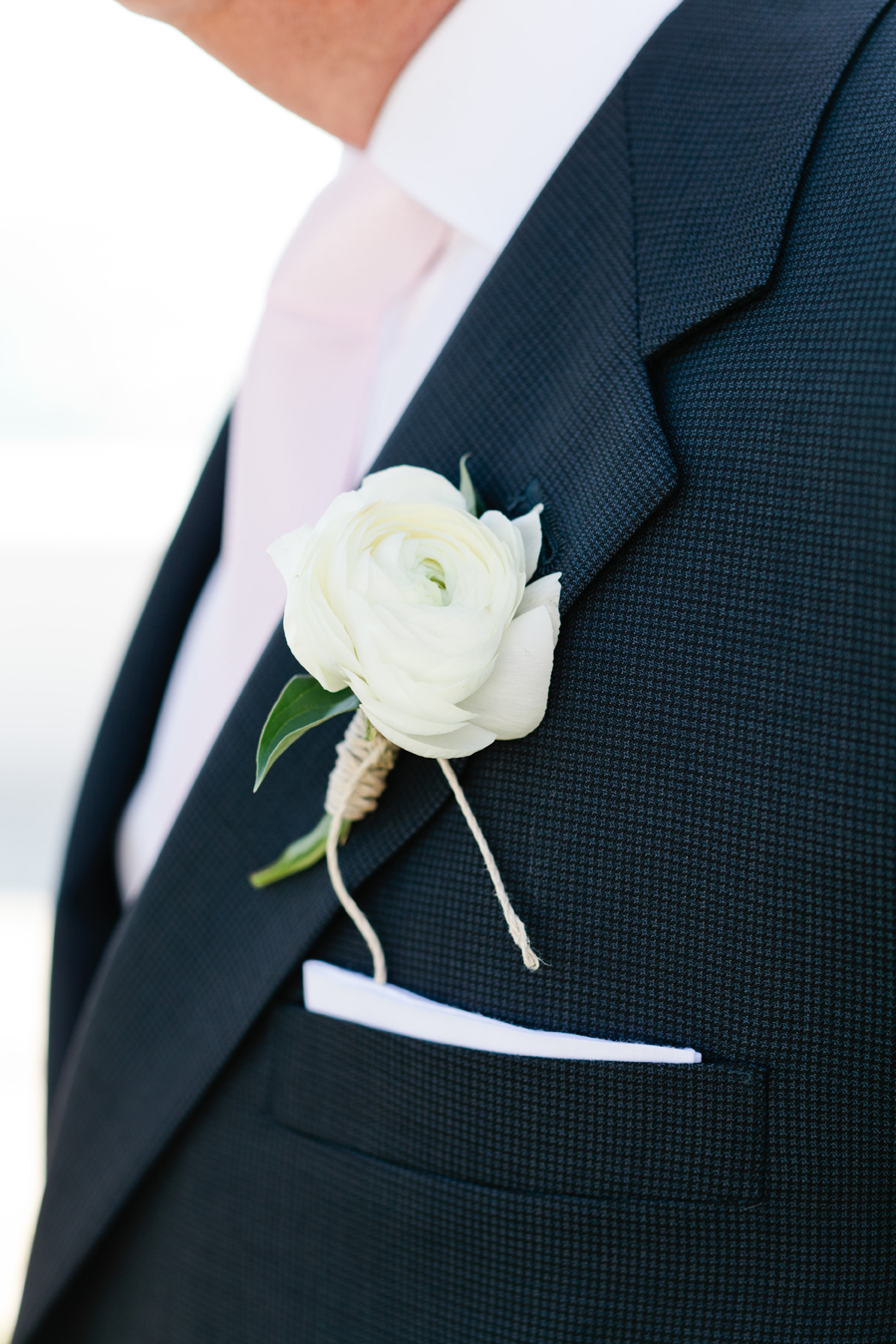 white rose boutonniere wrapped in twine elizabeth anne designs the wedding blog