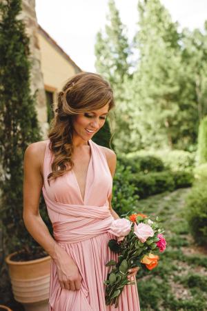 Wrap Bridesmaids Dress