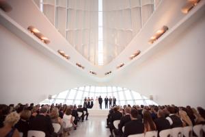 Art Museum Wedding Ceremony