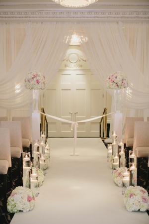 Ballroom Ceremony Aisle