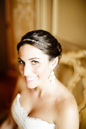 Beaded Hairpiece Bridal Ideas