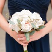 Blush Rose Bridesmaids Bouquet