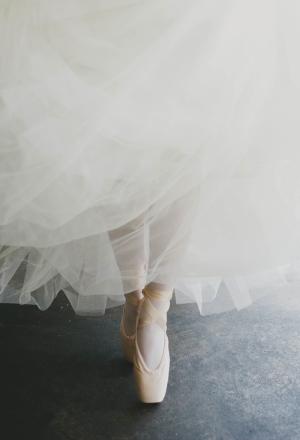Bride Ballet Shoes
