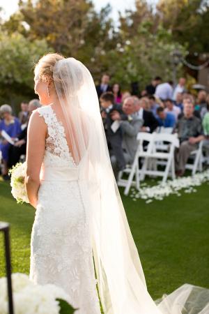 Bride in Long Veil