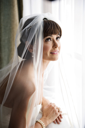Bride with Bangs