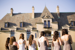 Brown Ombre Bridesmaids Looks