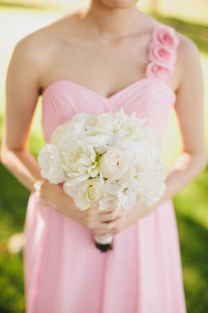 Bubblegum Pink Bridesmaids Dress