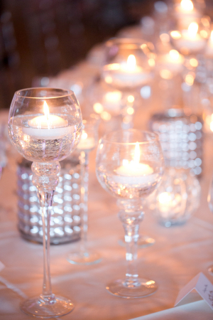 Candles and Mercury Glass