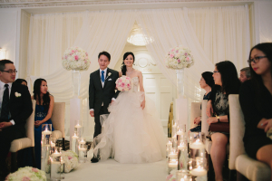 Ceremony Aisle with Candles
