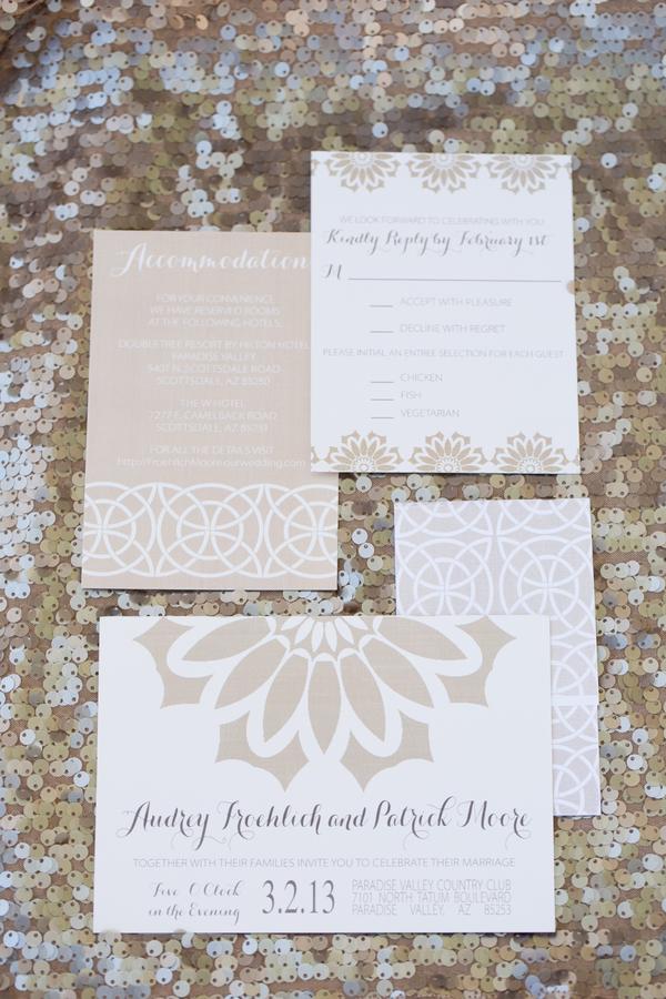 Champagne Wedding Invitations - Elizabeth Anne Designs: The ...