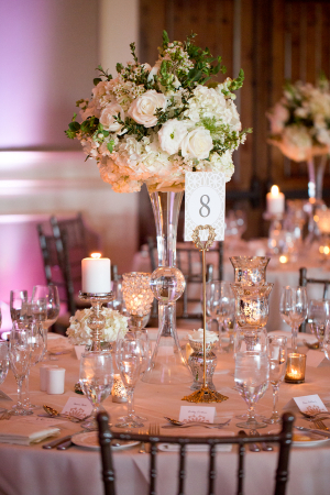 Champagne and Ivory Reception