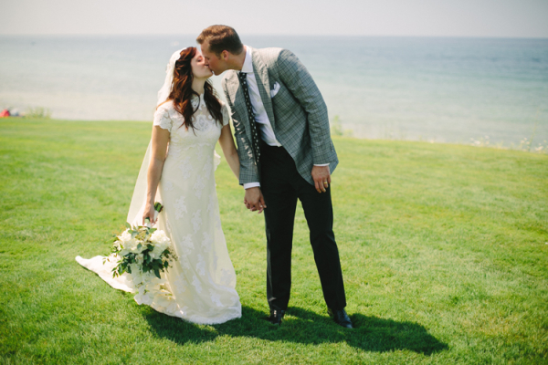 Classic Michigan Lake Wedding