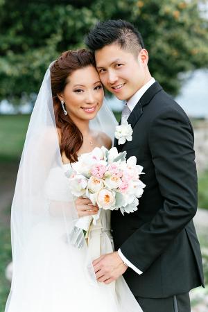 Classic Pastel Brides Bouquet