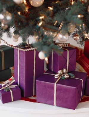 Color-Coded Gift Wrap