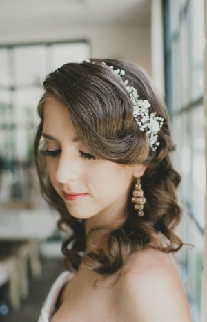 Crystal and Silver Headband