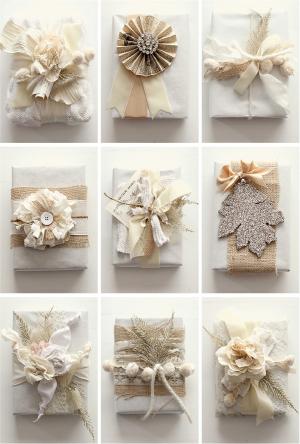 DIY Gift Wrap by Grey Likes Weddings