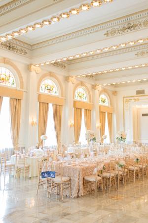Elegant Hotel Ballroom Reception