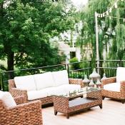 Elegant Wedding Lounge Area