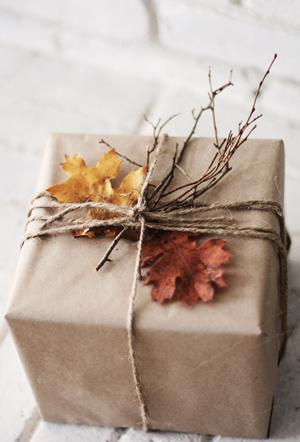 Fall Leaf Packaging